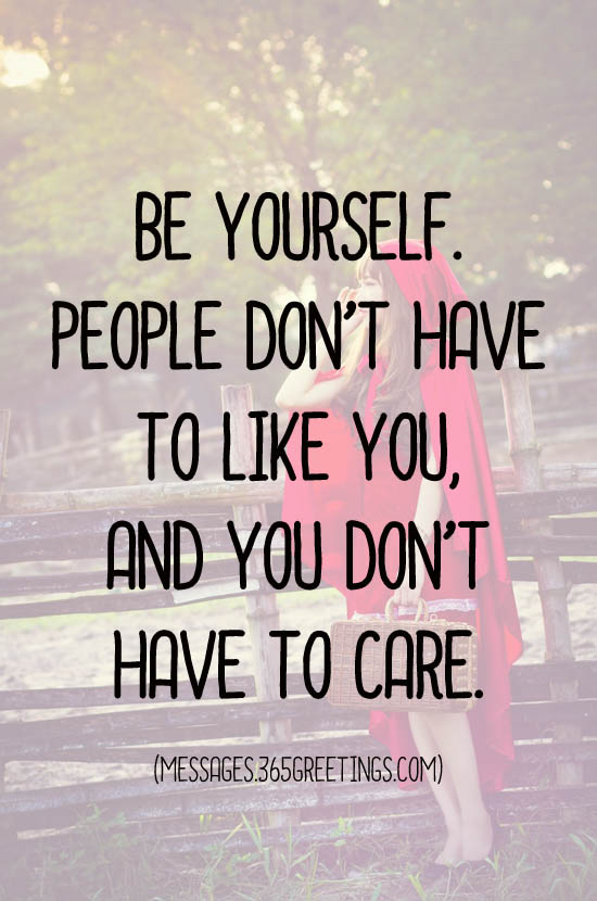 Be Yourself Quotes and Sayings - 365greetings.com