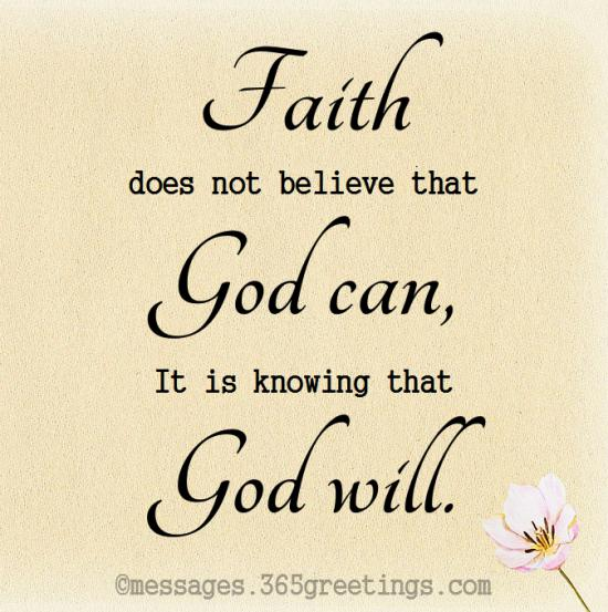 Quotes about Faith - 365greetings com