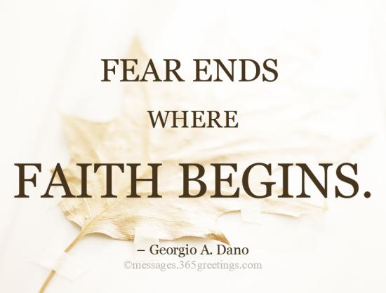 Quotes About Faith 365greetingscom
