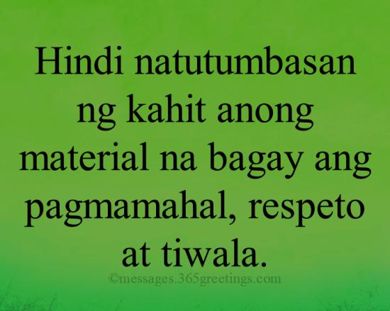 Tagalog Quotes About Family 365greetingscom
