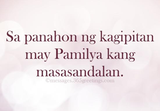 Quotes About Happy Family Tagalog