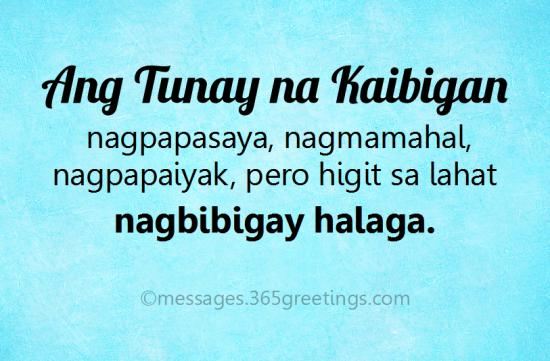 Tagalog Quotes About Friendship 60greetings Mesmerizing Tagalog Quotes