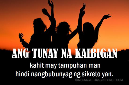 Tagalog Quotes About Friendship 60greetings Extraordinary Quotes Tagalog About Friendship