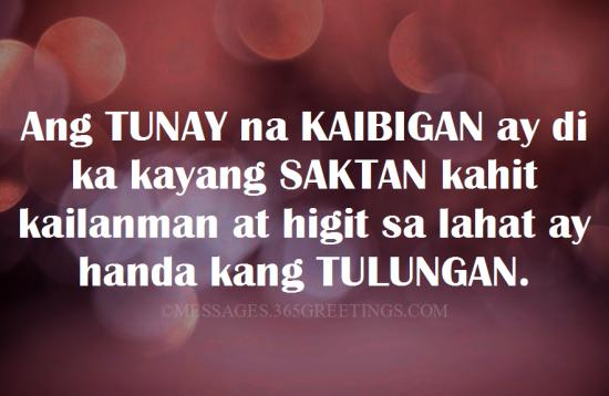 Tagalog Quotes About Friendship 365greetingscom