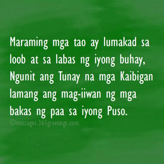 Tagalog Quotes About Friendship: Tagalog Quotes About Friendship