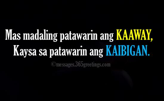 Tagalog Quotes About Friendship 60greetings Enchanting Quotes Tagalog About Friendship