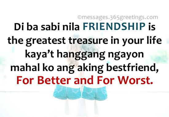 Tagalog Quotes About Friendship 60greetings Gorgeous Simple Quotes About Friendship