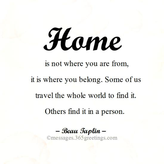 Quotes About Home 365greetings Com