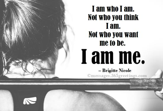 Quotes about Who I am - 365greetings.com
