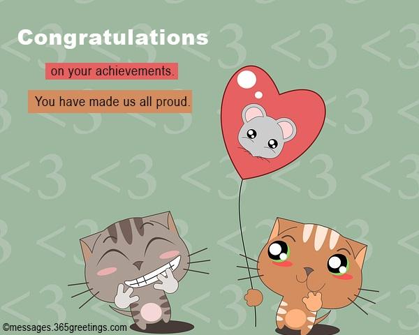 Congratulations Quotes - 365greetings com
